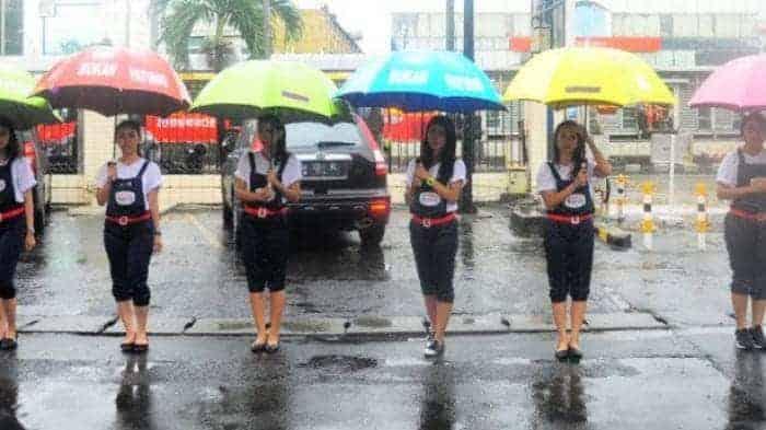 jasa ojek payung