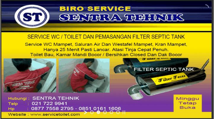 Sentra Tehnik – Sedot WC Dan Service Saluran Mampet