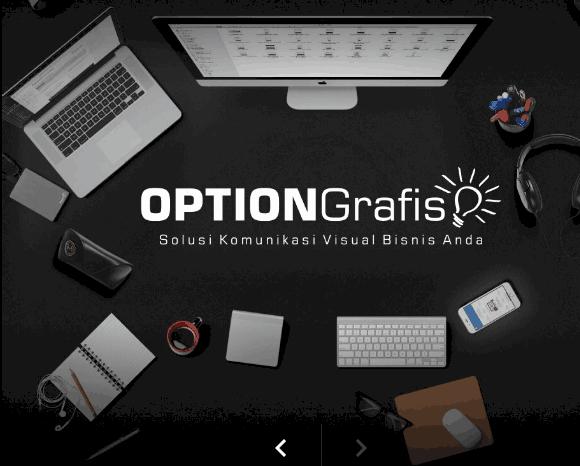 OPTION Grafis – Jasa Desain Grafis dan Pembuatan Website
